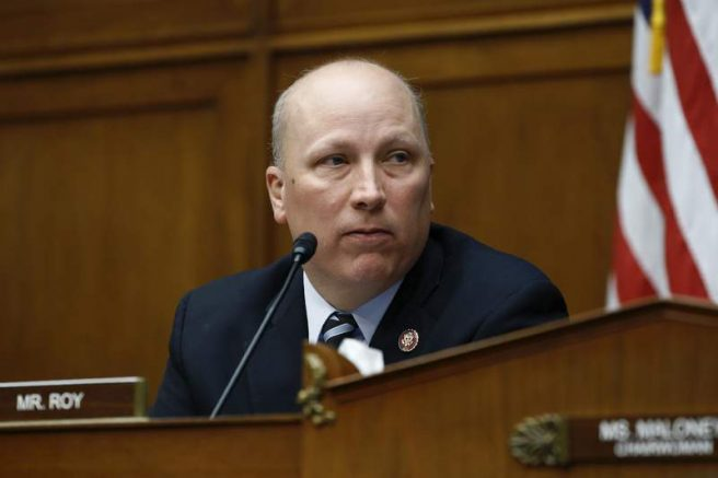Rep. Chip Roy (R-Texas) speaks during a hearing on Capitol Hill in Washington. (AP Photo/Patrick Semansky File)