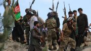 Afghan militiamen join Afghan defense and security forces during a gathering in Kabul. (File photo| AP)
