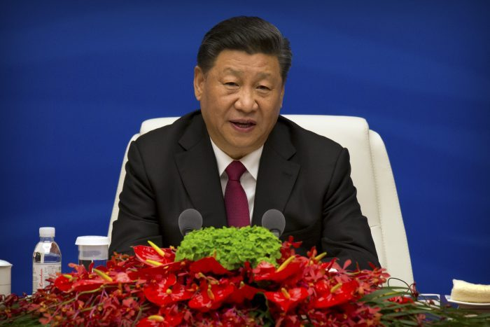 Chinese President Xi Jinping n Qingdao, in eastern China's Shandong province. ( MARK SCHIEFELBEIN/AFP via Getty Images)
