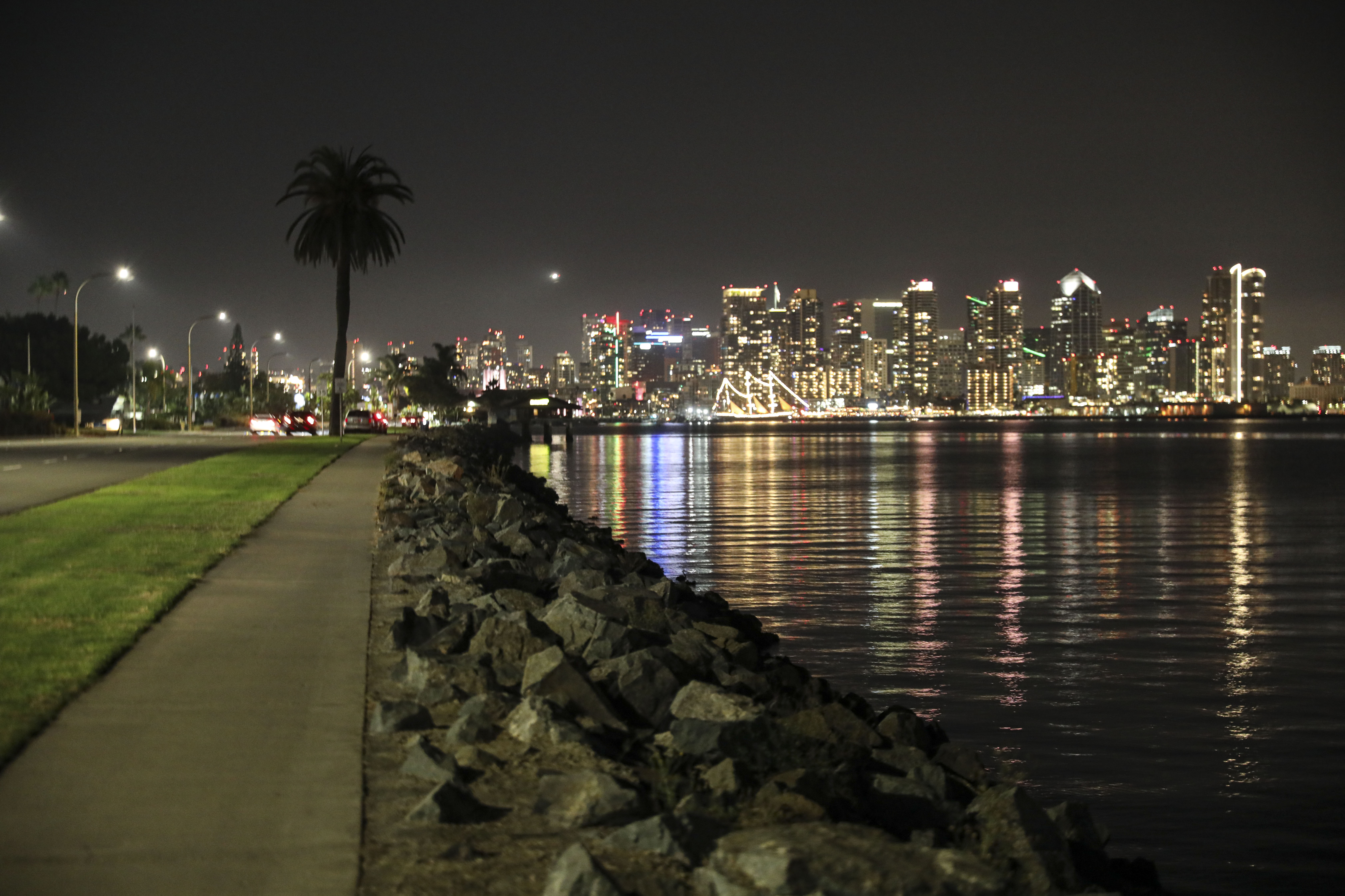 A general view of the San Diego skyline in San Diego, California. (Photo by Sandy Huffaker/Getty Images)