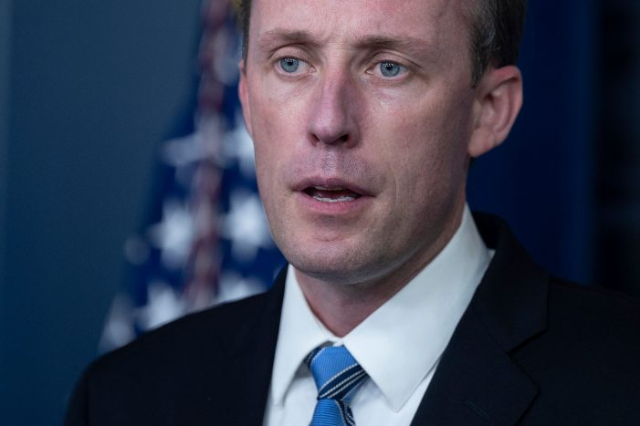 National Security Adviser Jake Sullivan speaks during the daily press briefing at the White House in Washington, D.C. (Photo by JIM WATSON / AFP) (Photo by JIM WATSON/AFP via Getty Images)
