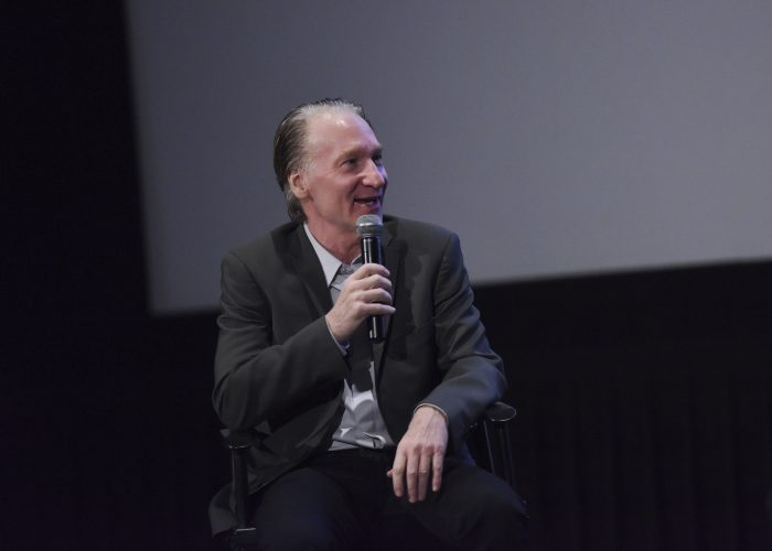 Bill Maher attends the Los Angeles Premiere of LBJ at ArcLight Hollywood in Hollywood, California. (Photo by Vivien Killilea/Getty Images for Electric Entertainment)