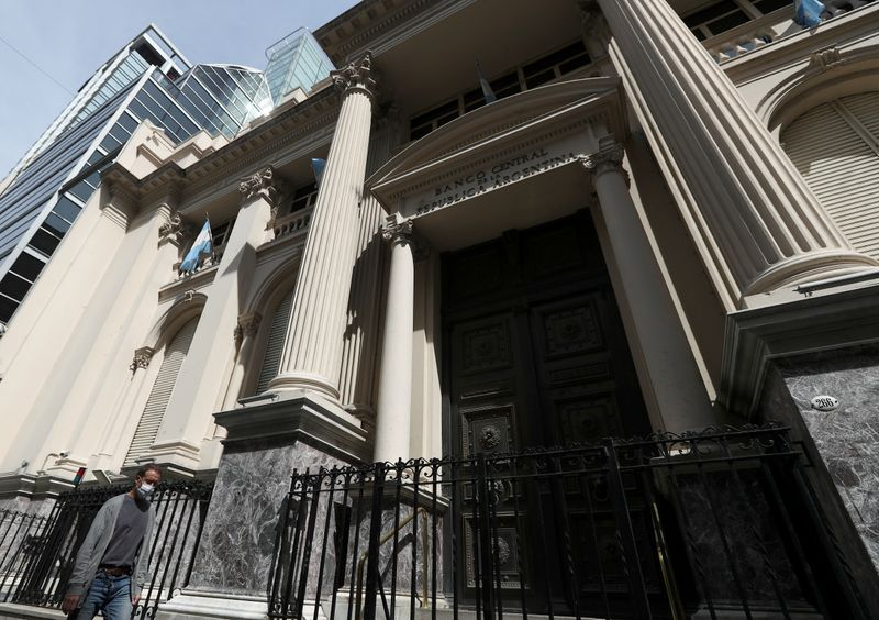 Argentina's Central Bank is seen in Buenos Aires