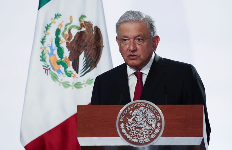 Mexico's President Andres Manuel Lopez Obrador delivers his state of the union address in Mexico City
