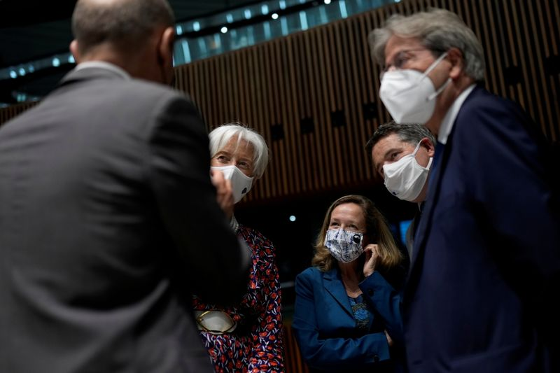 FILE PHOTO: Eurogroup Finance Ministers meeting in Luxembourg