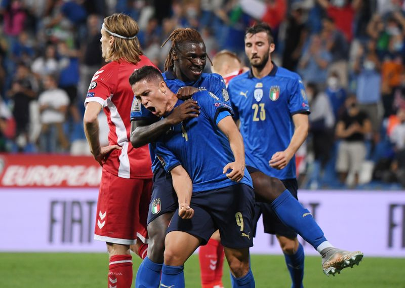 World Cup - UEFA Qualifiers - Group C - Italy v Lithuania