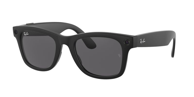 FILE PHOTO: Facebook and Ray-Ban's first smart glasses are seen in a handout image