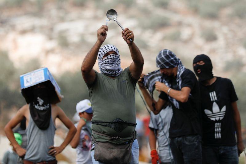 Protests in solidarity with Palestinian prisoners held in Israeli prisons in the West Bank