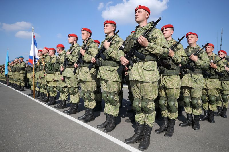 Inauguration of ZAPD-2021 military exercise in Brest region