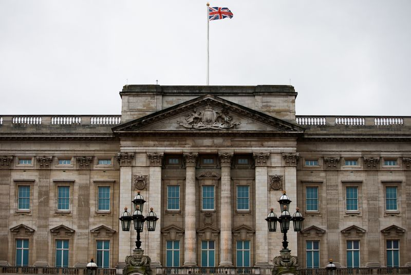 File photo: General view of Buckingham Palace in London