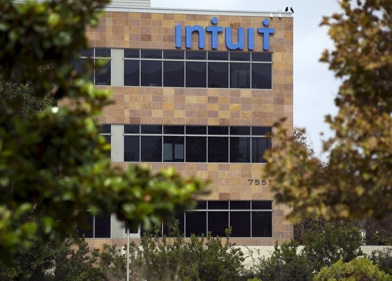 An Intuit office is shown in San Diego, California