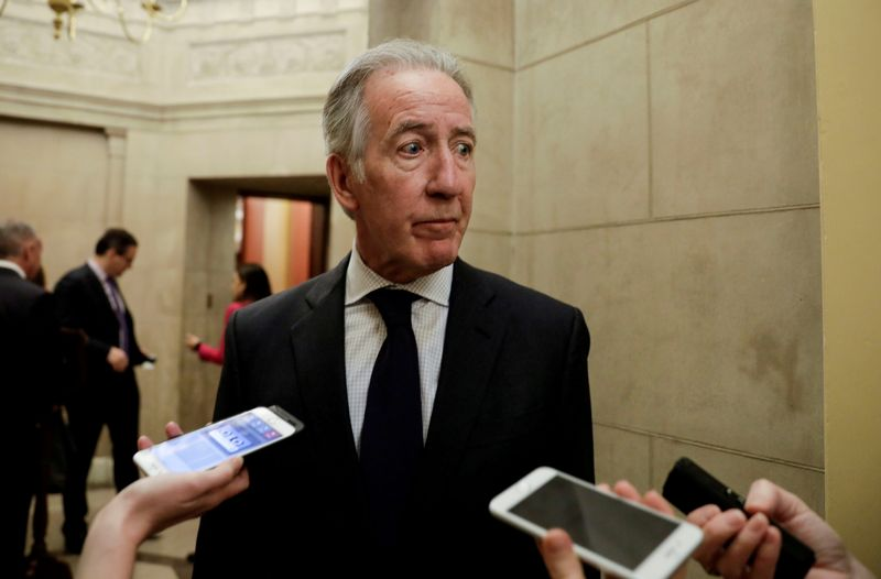 FILE PHOTO: House Ways and Means Committee Chairman Neal talks to reporters at the U.S. Capitol in Washington