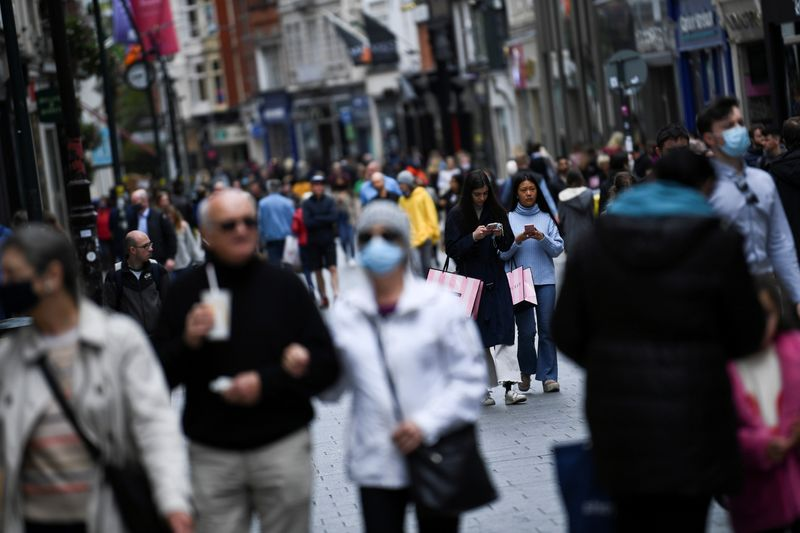 FILE PHOTO: COVID-19 restrictions continue to ease in Dublin