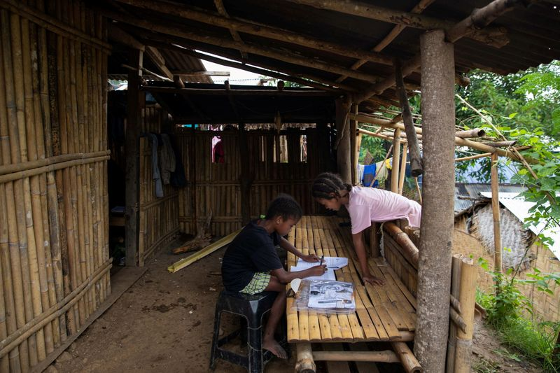 FILE PHOTO: Filipino teachers build learning center on wheels to help indigenous children