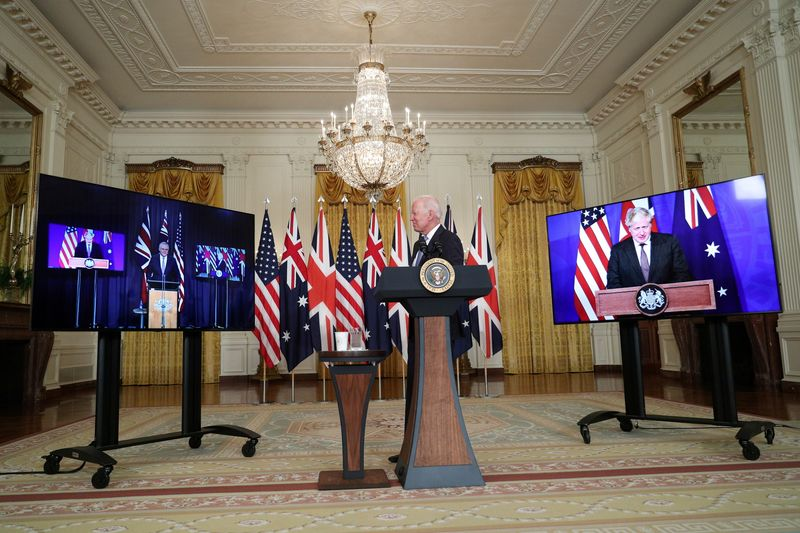 FILE PHOTO: President Biden delivers remark on National Security at the White House