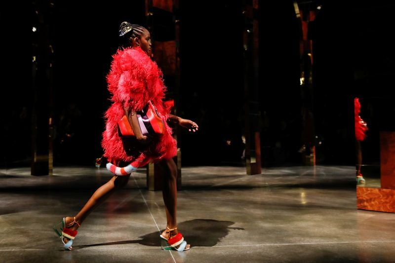 Fendi presents Spring/Summer 2022 collection during the Milan Fashion Week