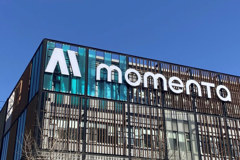 Chinese autonomous driving startup Momenta in Beijing