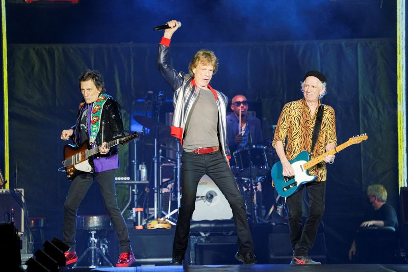 The Rolling Stones kick off their U.S. tour, a month after the death of drummer Charlie Watts, in St. Louis