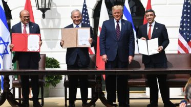 World leaders commemorate Abraham Accords