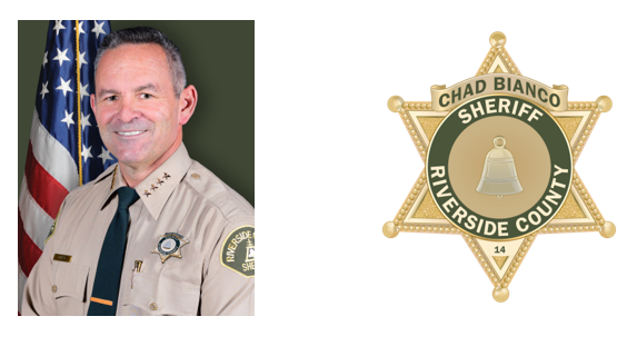Sheriff Chad Bianco is photographed. (Photo credit: Riverside County Sheriff Department)