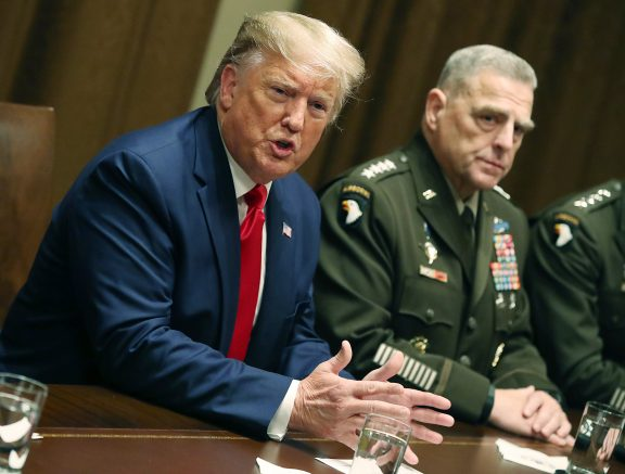 Gen. Milley appears to defend talking to China behind President Trump's back