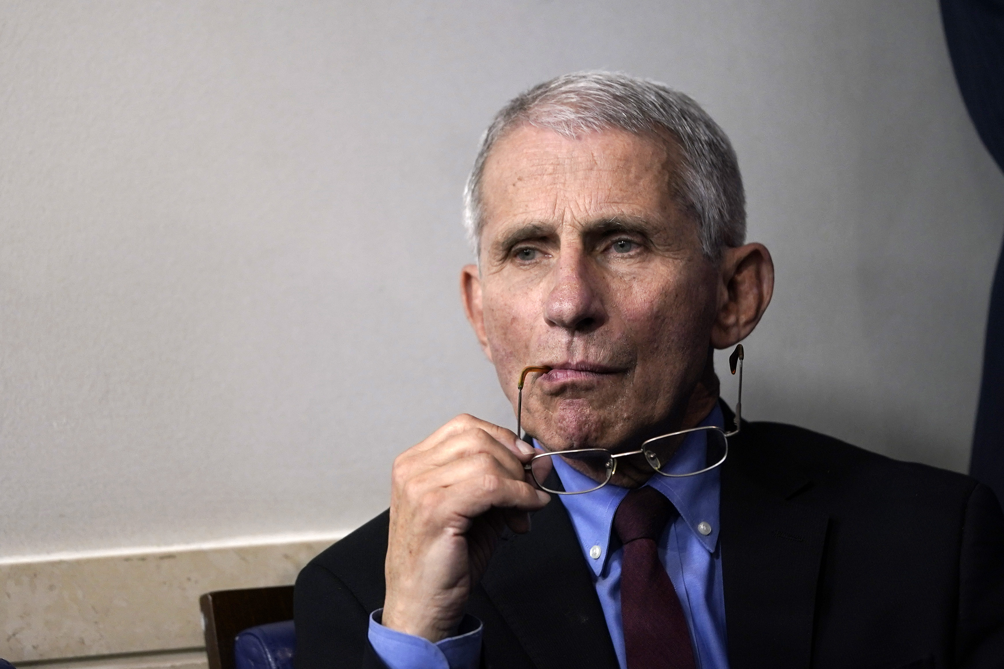 Dr. Anthony Fauci in Washington, D.C. (Photo by Drew Angerer/Getty Images)