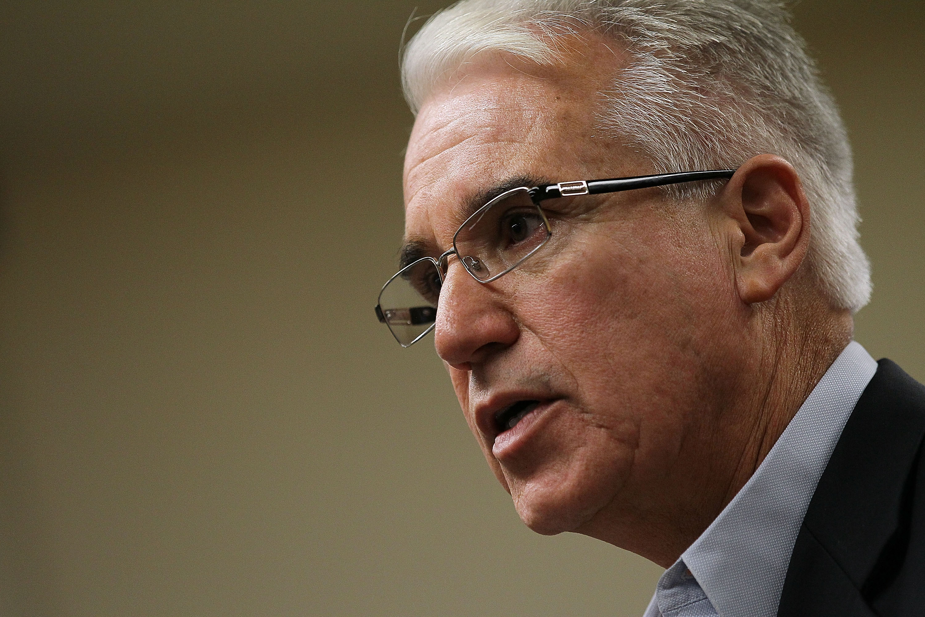 Los Angeles District Attorney George Gascon in San Francisco, California. (Photo by Justin Sullivan/Getty Images)