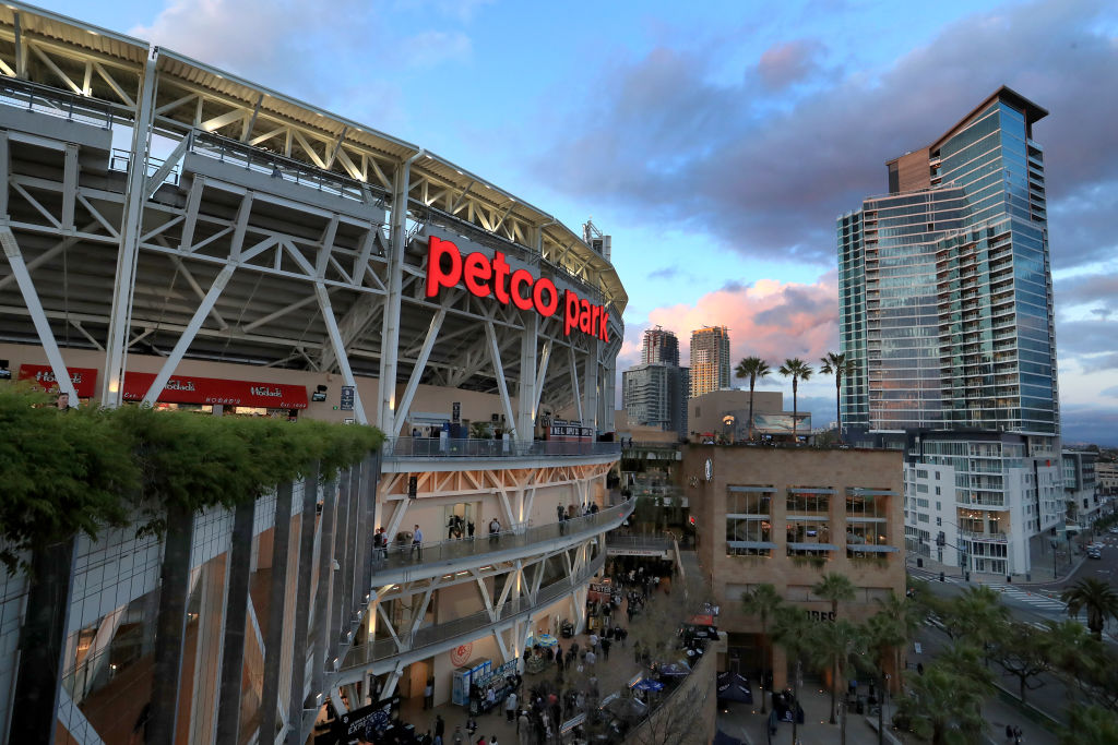 SAN DIEGO, CALIFORNIA - APRIL 16: A general view of PETCO Park during a game between the San Diego Padres and the Colorado Rockies on April 16, 2019 in San Diego, California. (Photo by Sean M. Haffey/Getty Images)