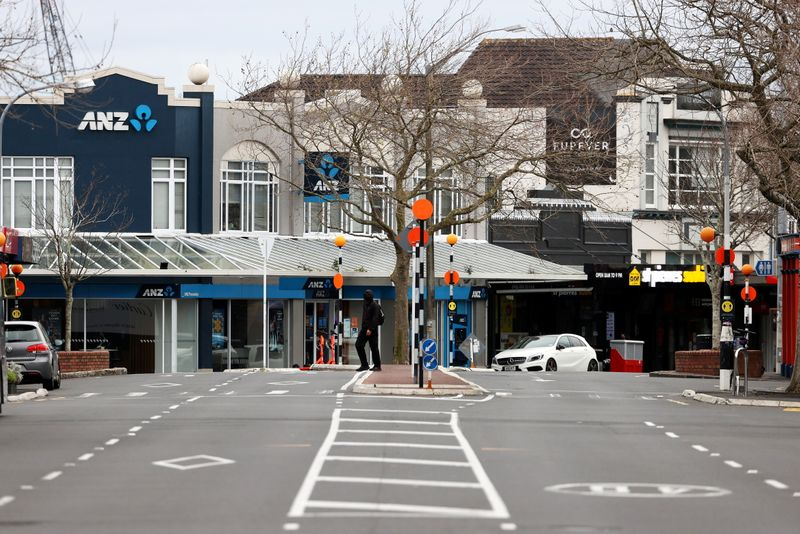 FILE PHOTO: A COVID-19 lockdown remains in place as an outbreak of cases affects New Zealand