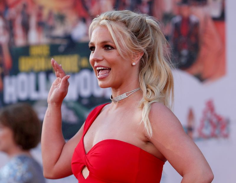 FILE PHOTO: Britney Spears  at premiere of