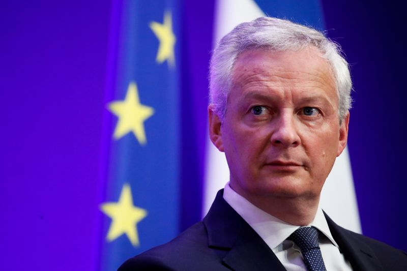 FILE PHOTO: French Economy and Finance Minister Le Maire presents government 2022 budget in Paris