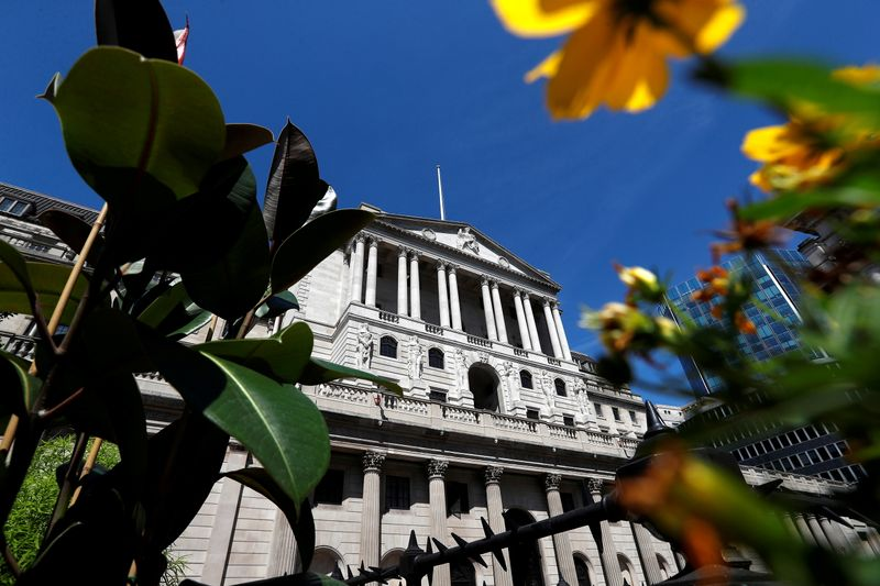 FILE PHOTO: Bank of England, in London