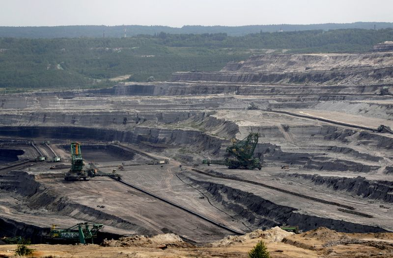 FILE PHOTO: Czechs at Polish borderlands lose water and patience in coal mine dispute