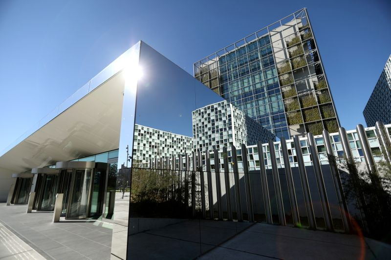 FILE PHOTO: International Criminal Court is seen in The Hague