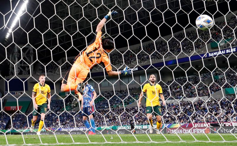 World Cup - Asia Qualifiers - Group B - Japan v Australia