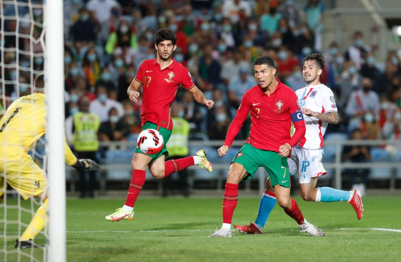 World Cup - UEFA Qualifiers - Group A - Portugal v Luxembourg