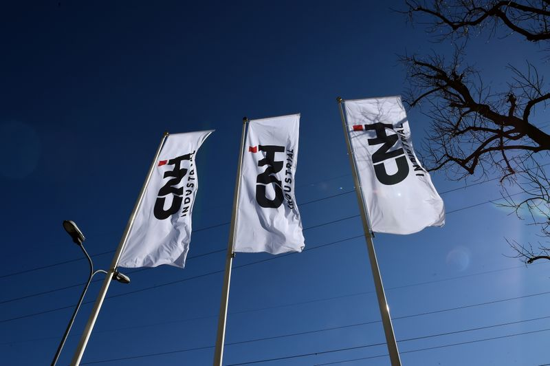 FILE PHOTO: The truck and tractor maker CNH Industrial NV releases Q4 and FY results