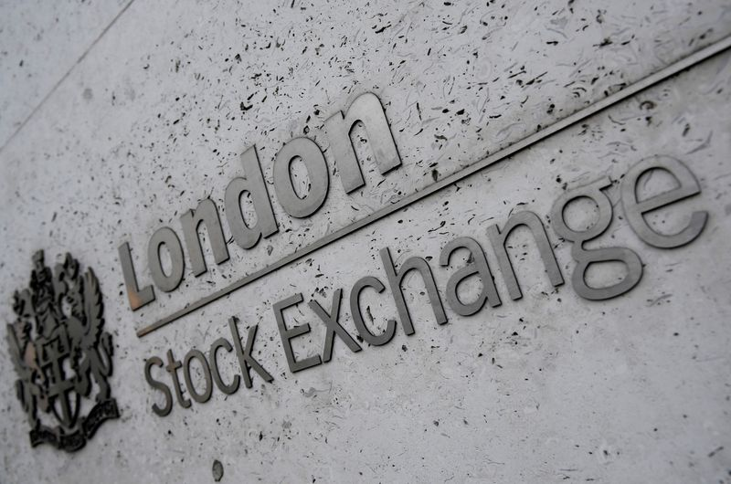 FILE PHOTO: FILE PHOTO: The London Stock Exchange offices in the City of London, Britain