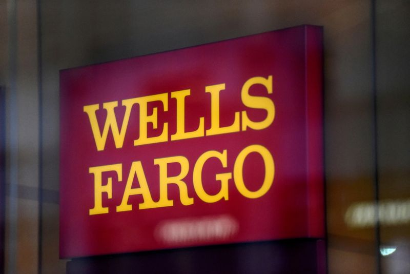 FILE PHOTO: FILE PHOTO: A Wells Fargo logo is seen in New York City