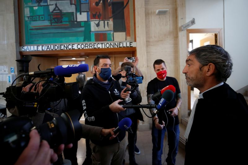 Spectator who caused spectacular Tour de France crash appears in court in Brest
