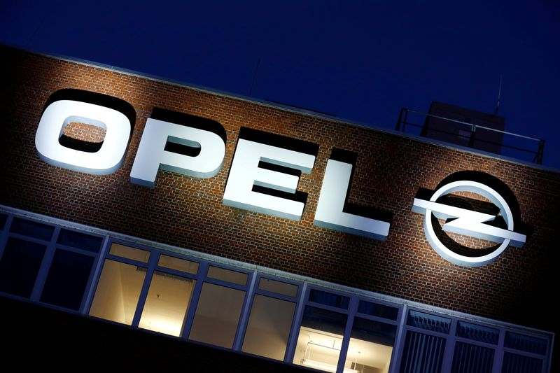 FILE PHOTO: FILE PHOTO: The Opel headquarters in Ruesselsheim, Germany