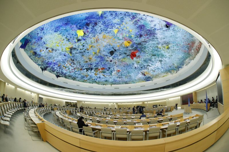 Human Rights Council in Geneva