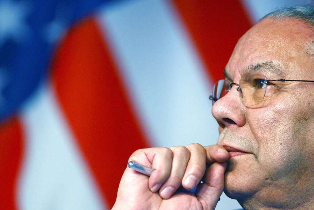Gen. Colin Powell dies at 84 of COVID-19 complications