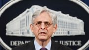 WASHINGTON, DC - APRIL 26: US Attorney General Merrick Garland delivers a statement at the Department of Justice on April 26, 2021 in Washington, DC. Garland announced that the Justice Department will begin an investigation into the policing practices of the Louisville Police Department in Kentucky. A report of any constitutional and unlawful violations will be published. (Photo by Mandel Ngan-Pool/Getty Images)