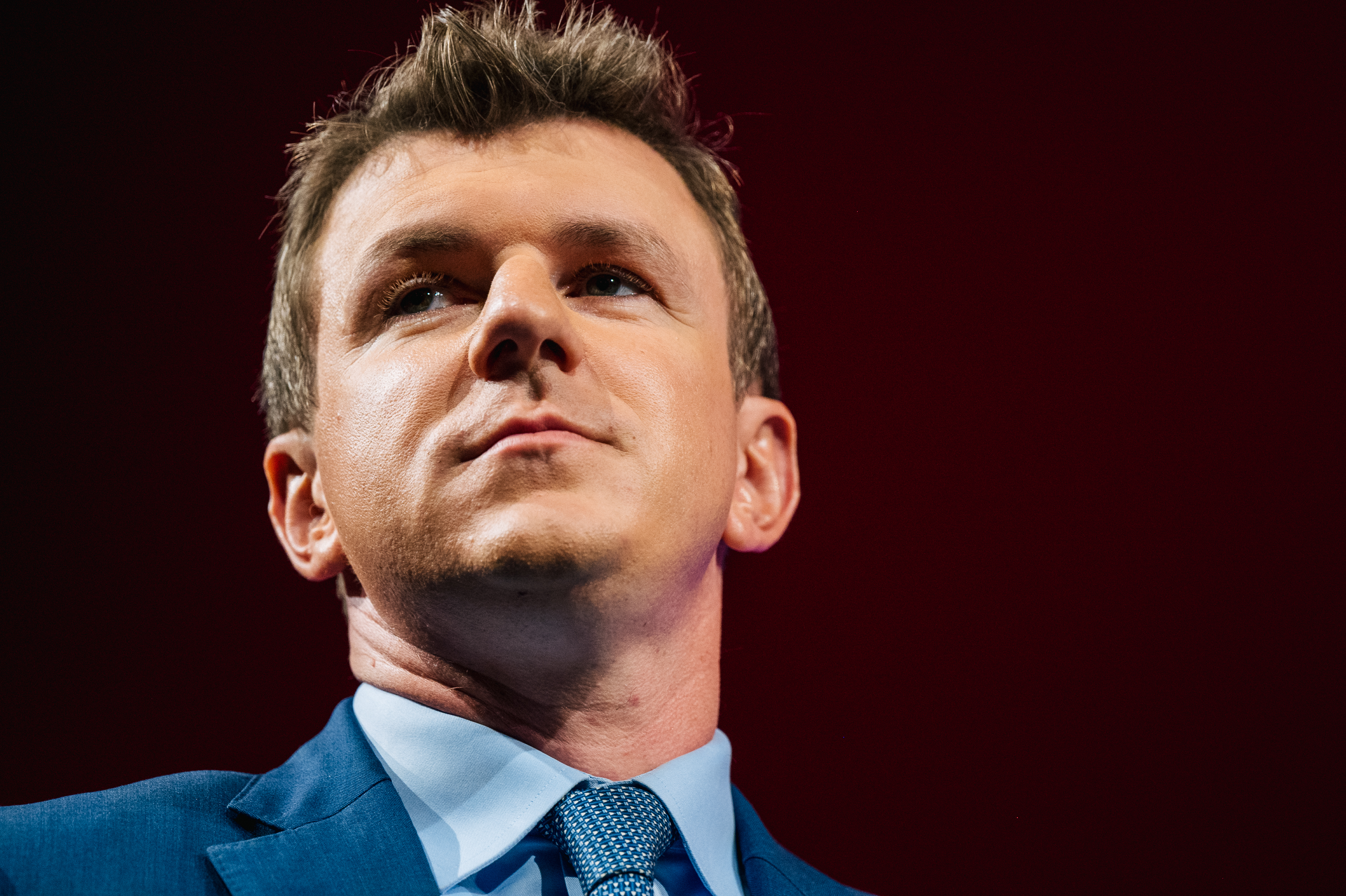 Project Veritas founder James O'Keefe looks on during the Conservative Political Action Conference CPAC held at the Hilton Anatole in Dallas, Texas. (Photo by Brandon Bell/Getty Images)