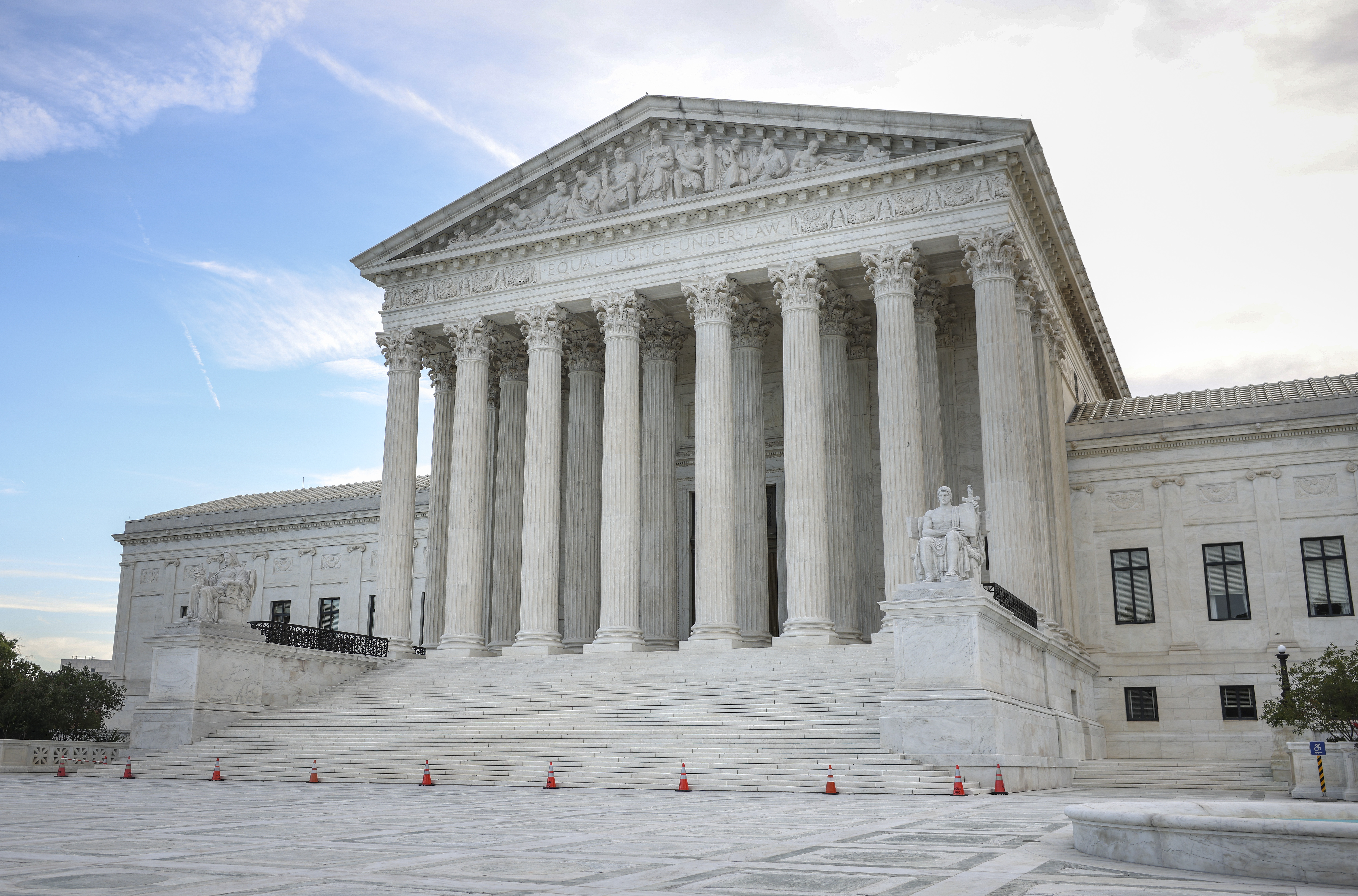 The U.S. Supreme Court is seen on October 05, 2021 in Washington, DC. (Photo by Kevin Dietsch/Getty Images)