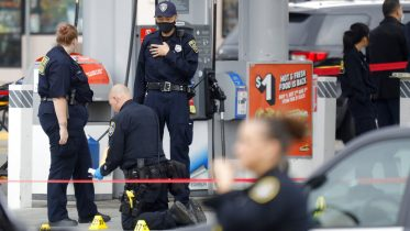 Retired Oakland Police captain recovering, 1 suspect killed during gas station gun battle