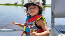 This undated photo distributed by the Wisconsin Department of Justice shows, Major P. Harris. Milwaukee police are searching for Harris, a 3-year-old boy after his mother was killed and the man who was a person of interest in her slaying was found dead from an apparent self-inflicted gunshot wound. Wisconsin Department of Justice via AP